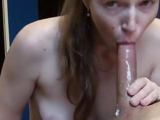Blow job and cum in mouth