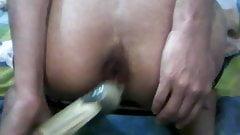 Deep anal fuck trainning.