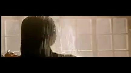 Angelina Jolie as Lara Croft in Shower