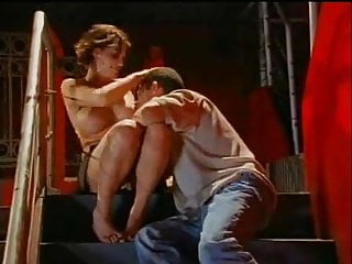 Eve tit fuck - Eve lawrence fucked on stairs