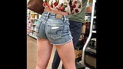 Fantastic Ass n Jean Shorts