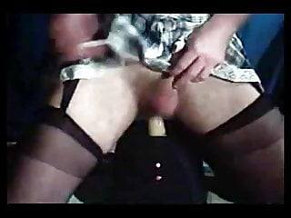 Girl riding fucking machine - Jorgina - riding my fucking machine in short skirt
