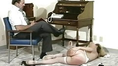 Little Miss Wiggle Bottom gets a Spanking