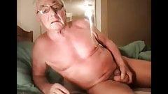 grandpa show on webcam