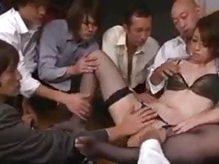 ppp 060 pussy-fingering + gangbang + creampie uncensored