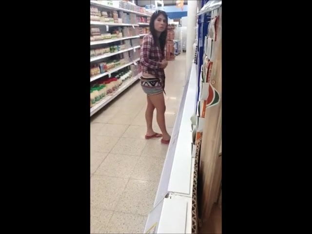 Women furtive masturbation in public