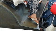 (2) Candid Feet on the bus (& facesit`s very HOT )