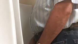 Old man piss