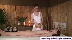 Sensual masseuse fingering sapphic lesbian