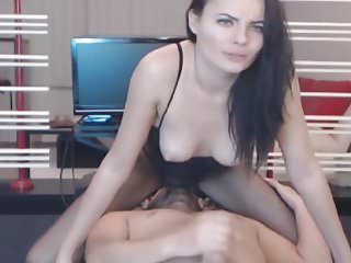 Hot Babe Gets Her Face Full Of Hot Jizz