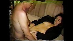 ex carla creampie (full version) with old man threesome