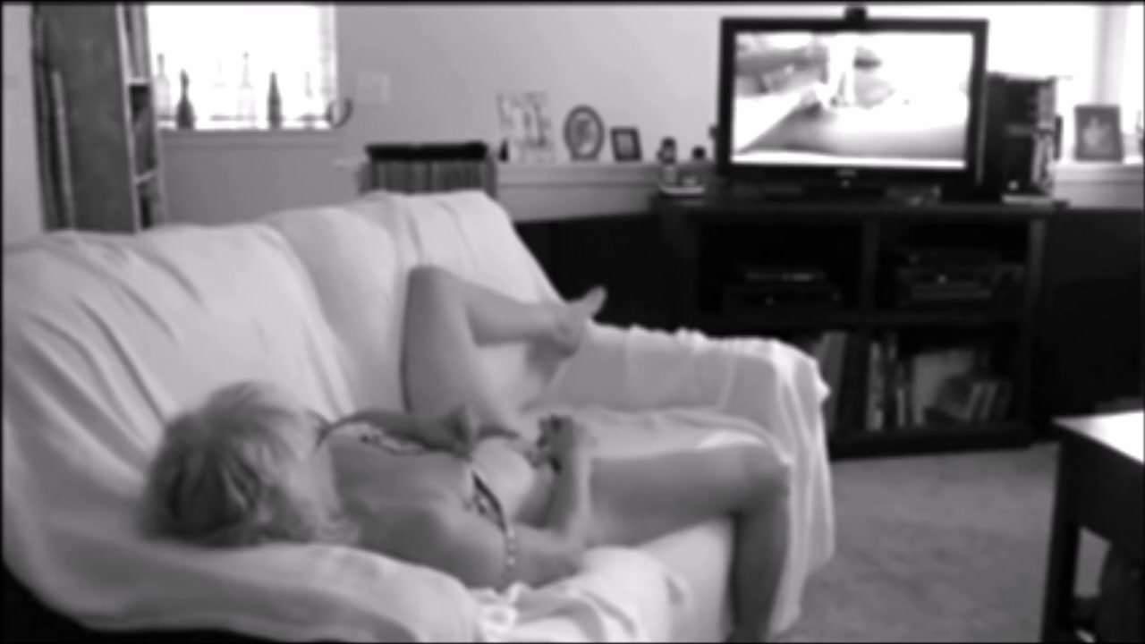 caught watching porn and masturbating