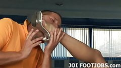 Are you ready for your foot worship session JOI