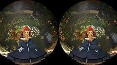 Poison Ivys Blowjob Monitored Yard Time Hentai VR Porn
