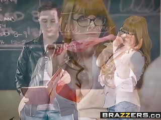 Brazzers - Big Tits at School -The Substitute Slut scene s
