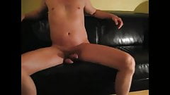 leather couch humping and rubbing