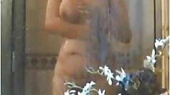 busty hidden shower