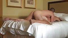 Boyfriends in hotel room sex tape
