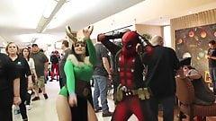 Deadpool vs Tyler Rose City Comic-Con 2014 ( NO PORN )