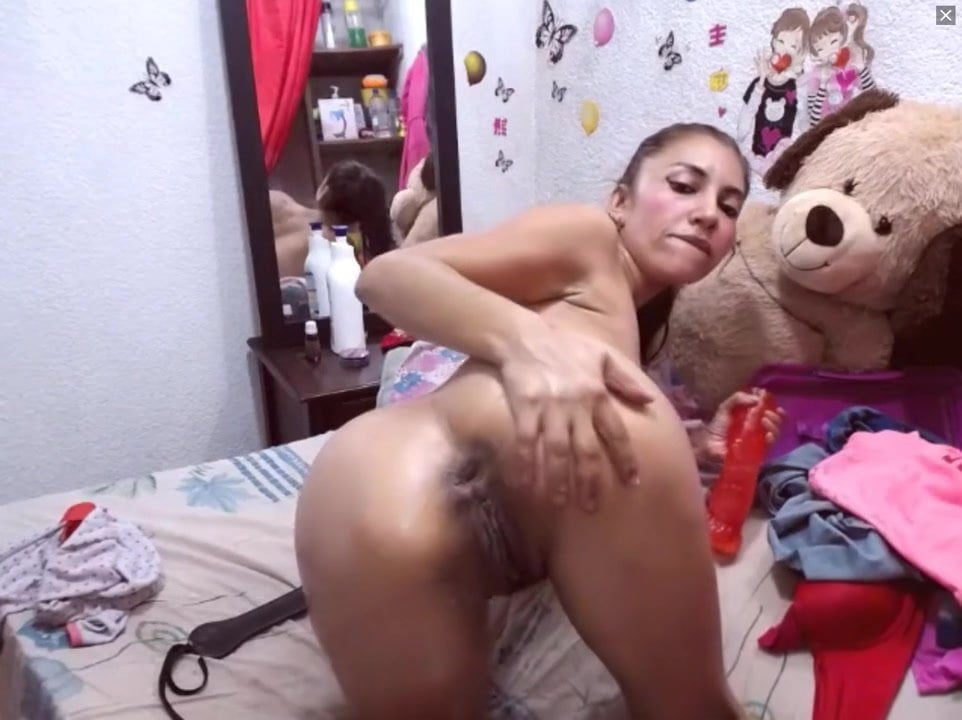 Busty Latina Teen Webcam