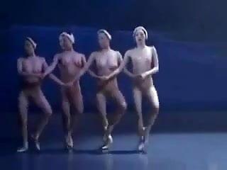 Erotic Dance Performance 13 - Naked Swan Lake