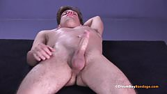 Michael Del Ray Twink BDSM Whipping Big Cock Hung Bondage