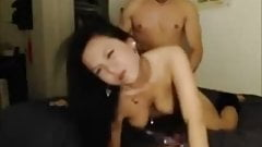 Korean College Student Pounded By White Cock
