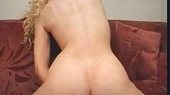 Irish slut Tiffany Walker in solo action