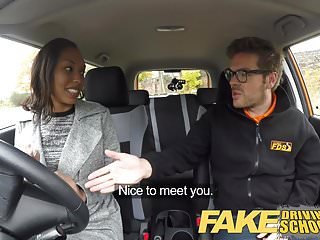 Lalaine naked fakes - Fake driving school 18yr black teen filled up by her teacher