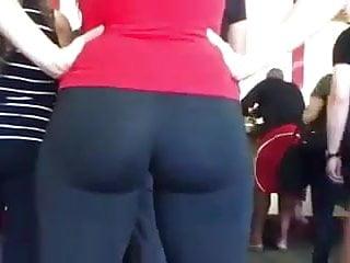 nice ass in line