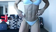 Exquisite muscular white goddess-II