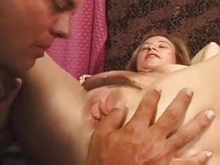 Hairy Mature Getting Her Pussy Shaved BVR