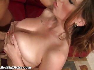 All Natural Busty Babe Fucks A Big Dick!