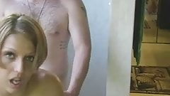 Short hair blonde amateur fucking