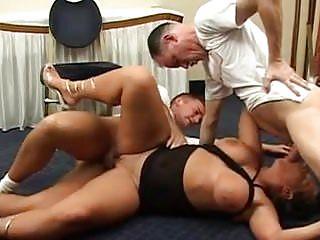 Big Saggy Tits HUGE ASS DP
