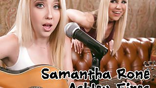 Ashley Firest and her Protegee, Samatha Rone