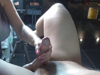 Huge Load, big strapon, cum, cumshot two mistresses
