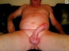 granpa big cock big cum