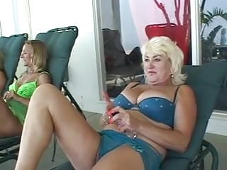 Three pinks lesbian - Three sexy lesbian sluts with great asses fuck each other with strap ons