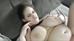 Shameless BBW Wife with Enormous Big Boobs Likes Hot Sex