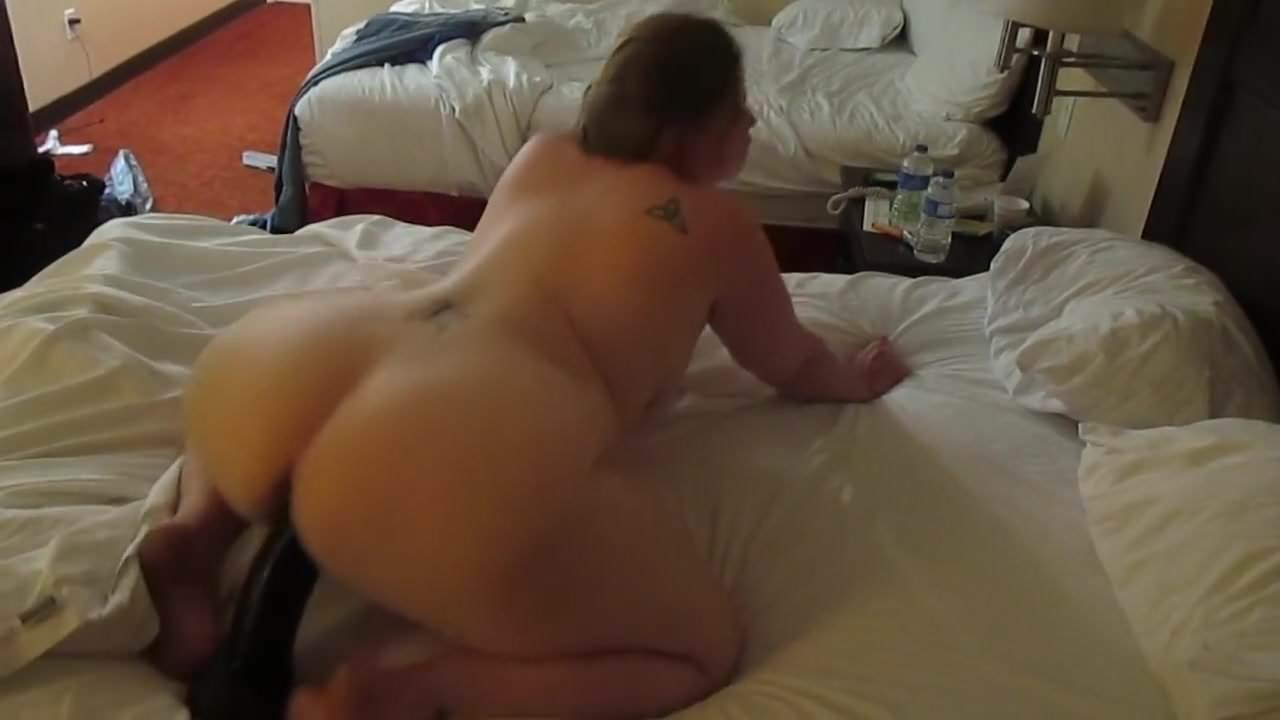 Loud Moaning Riding Dildo