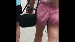Alluring Lady Walking Loose Fit Shorts (SEXY AF!)
