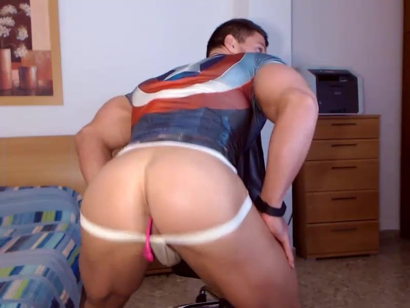gay muscle porn clip: Anal stimulation, on hotmusclefucker.com