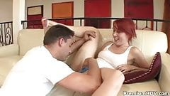 Bad girl Ivy Ryder gets punished by rod