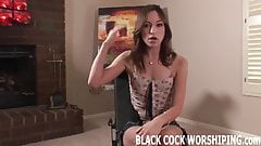I should treat myself to some big black cock