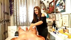 CFNM sexual massage part 2