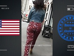 Very hot jiggle booty walking in street usa Thumbnail