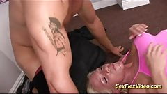 busty stepmom in flexi kamasutra sex