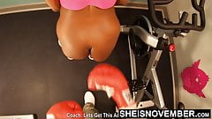 Boxing Big Black Ass In Slow Motion Ass Cheeks Msnovember 4K