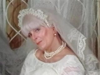 Free condom sample - Big tits granny candy samples masturbates in wedding dress